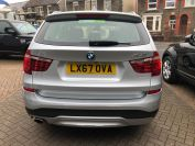 BMW X3 XDRIVE20D XLINE LOVELY LOW MILES MUST BE SEEN  - 2066 - 5