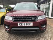 LAND ROVER RANGE ROVER SPORT SDV6 HSE DYNAMIC£6730 WORTH OF EXTRAS STUNNING - 1929 - 2