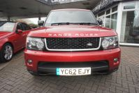 LAND ROVER RANGE ROVER SPORT SDV6 HSE RED WHAT A STUNNING RARE CAR FSH - 1464 - 3