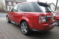 LAND ROVER RANGE ROVER SPORT SDV6 HSE RED WHAT A STUNNING RARE CAR FSH - 1464 - 5