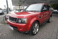 LAND ROVER RANGE ROVER SPORT SDV6 HSE RED WHAT A STUNNING RARE CAR FSH - 1464 - 4