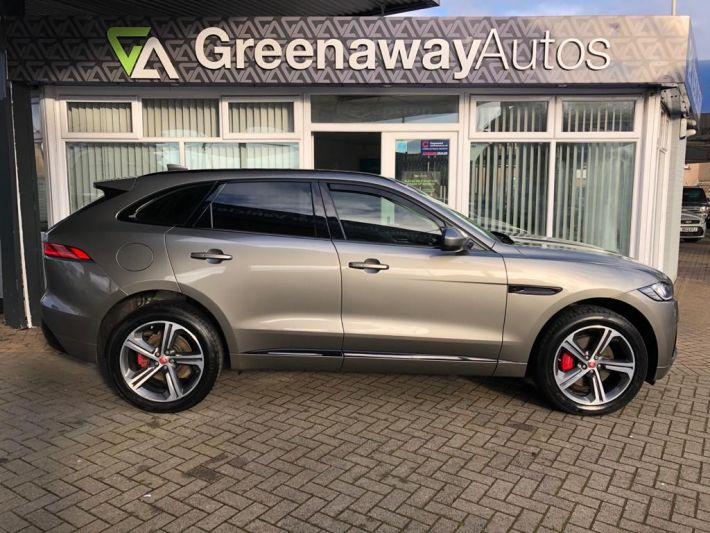Used JAGUAR F-PACE in Cardiff, Wales for sale