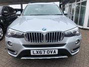 BMW X3 XDRIVE20D XLINE LOVELY LOW MILES MUST BE SEEN  - 2066 - 2