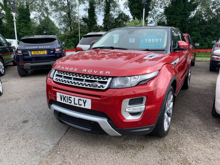 Used LAND ROVER RANGE ROVER EVOQUE in Cardiff, Wales for sale