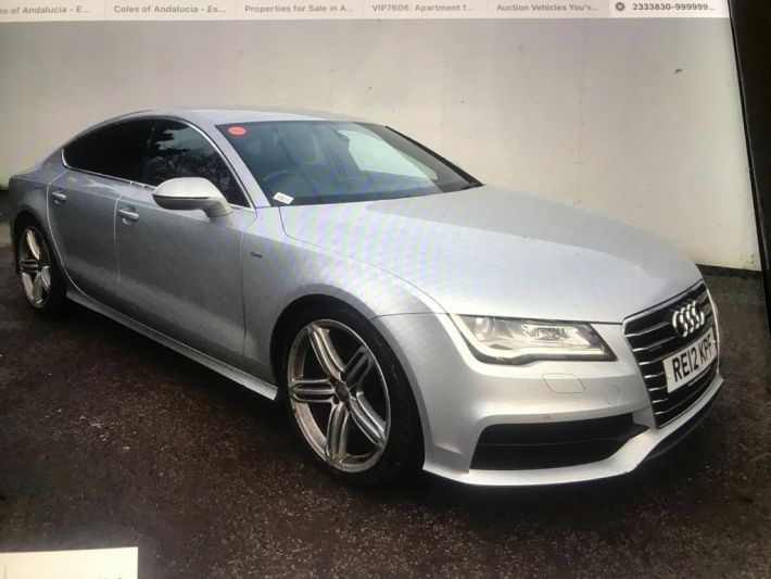 Used AUDI A7 in Cardiff, Wales for sale
