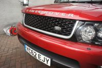 LAND ROVER RANGE ROVER SPORT SDV6 HSE RED WHAT A STUNNING RARE CAR FSH - 1464 - 29