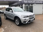 BMW X3 XDRIVE20D XLINE LOVELY LOW MILES MUST BE SEEN  - 2066 - 3