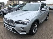 BMW X3 XDRIVE20D XLINE LOVELY LOW MILES MUST BE SEEN  - 2066 - 7