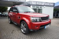 LAND ROVER RANGE ROVER SPORT SDV6 HSE RED WHAT A STUNNING RARE CAR FSH - 1464 - 2